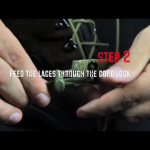Step 2 - Feed through cordlock