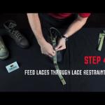 Step 4 - Lace restraints