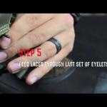 Step 5 - Last set of eyelets