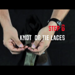 Step 6 - Knot or tie laces
