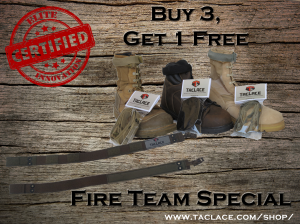 Fire Team Special, Buy 3 Get 1l - TacLace